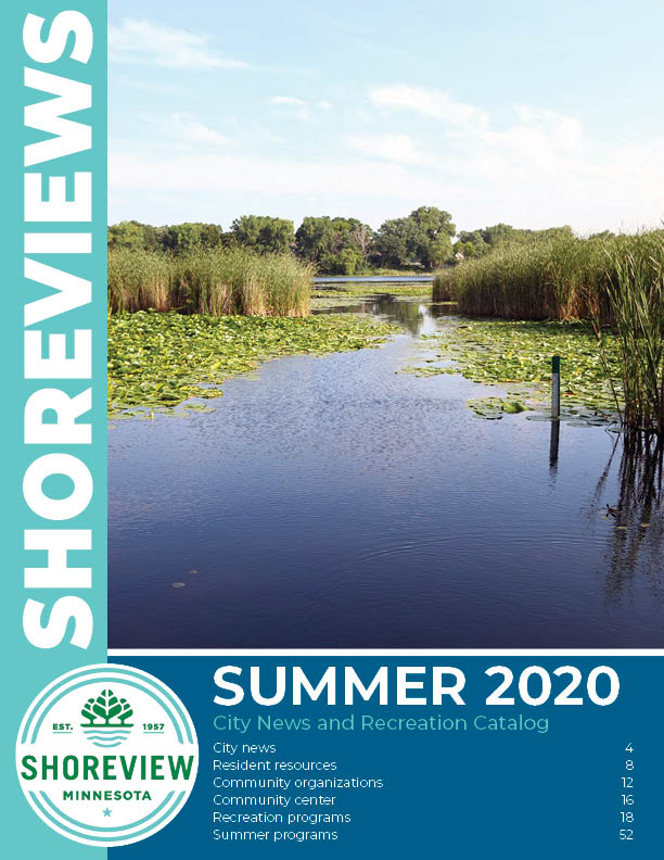 2020 summer shoreviews catalog cover